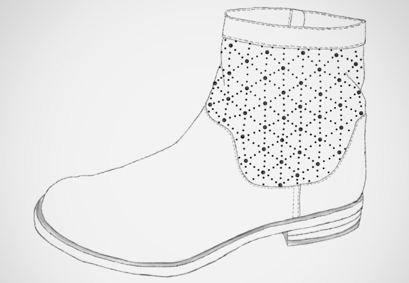 Lace boots - Design